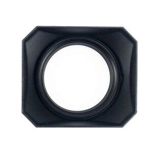 Image 5 - Vierkante Zonnekap voor Sony Fujifilm Olympus Mirrorless Camera Lenzen DV Camcorders 37 39 40.5 43 46 49 52 55 58 mm