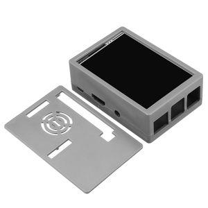 Image 4 - Dla Raspberry Pi 3 kolorowy ekran TFT Tou ch wyświetlacz LCD 3.5 cala + etui z ABS + pióro dotykowe Monitor LCD zestaw dla Raspberry Pi