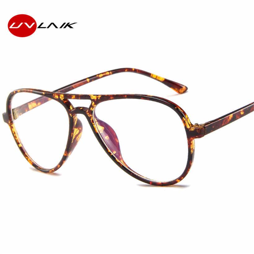 UVLAIK модная рамка для очков мужские очки ясно очки кадров для Для женщин прозрачный оптические очки
