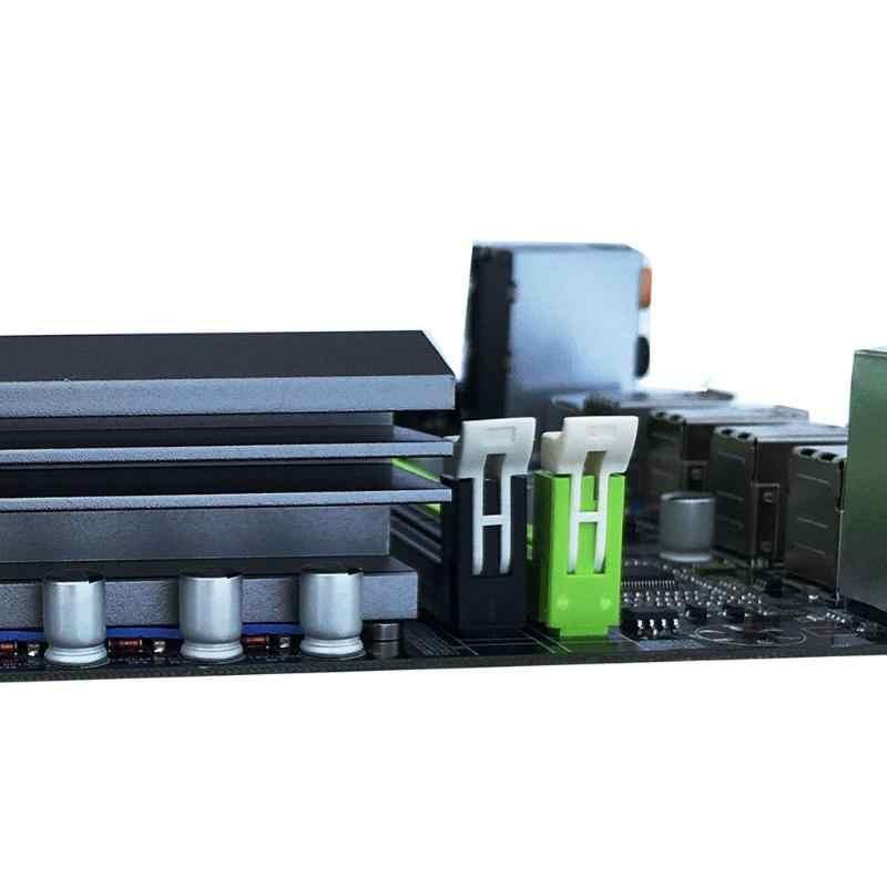 X79T DDR3 PC Desktops Motherboard LGA 2011 CPU Computer 4 Channel Gaming Support M.2 E5-2680V2 i7 SATA 3.0 USB 3.0 for Intel B75