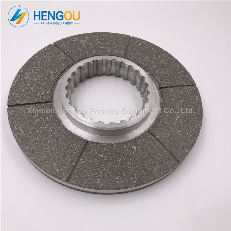 1 piece Roland Heidelberg 102 parts Friction plate, grey color brakes 190*75mm thickness 14mm offset printing machine parts 1 piece motor brakes for heidelberg sm 74 high quality printing parts brakes