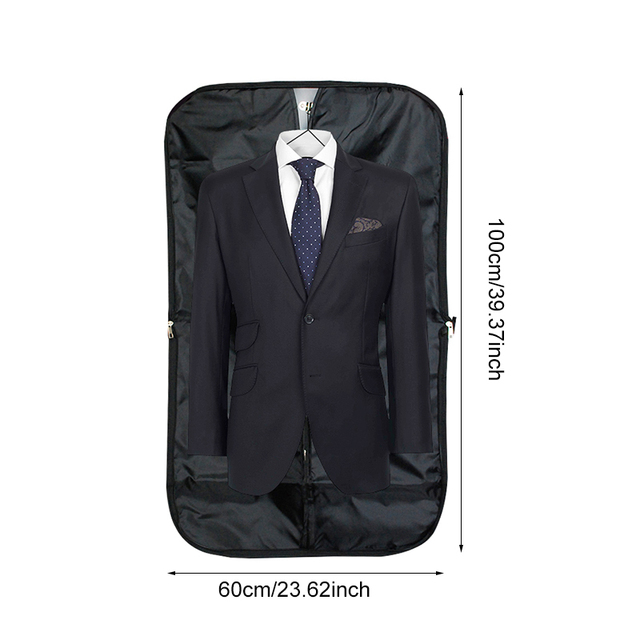 Men's Clothing Covers Storage Bags Dust Hanger Organizer Household Merchandises Portable Travel Suit Coat Garment Accessories
