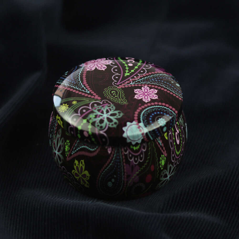 1PC Rich Patterns Flowers Bronzing Creative Metal Candy Boxes Wedding Supplies for Candy Valentines Day Gift Wedding