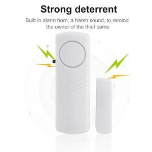 Image 3 - Door Window Wireless Burglar Alarm With Magnetic Sensor Home Safety Wireless Longer System Security Device