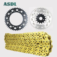 520 14T 43T Motorcycle Motor Drive Chain and Front Rear Sprocket Kit For HONDA CR250 CR 250 1992 1993 1994 - 2008 14 43 teeth