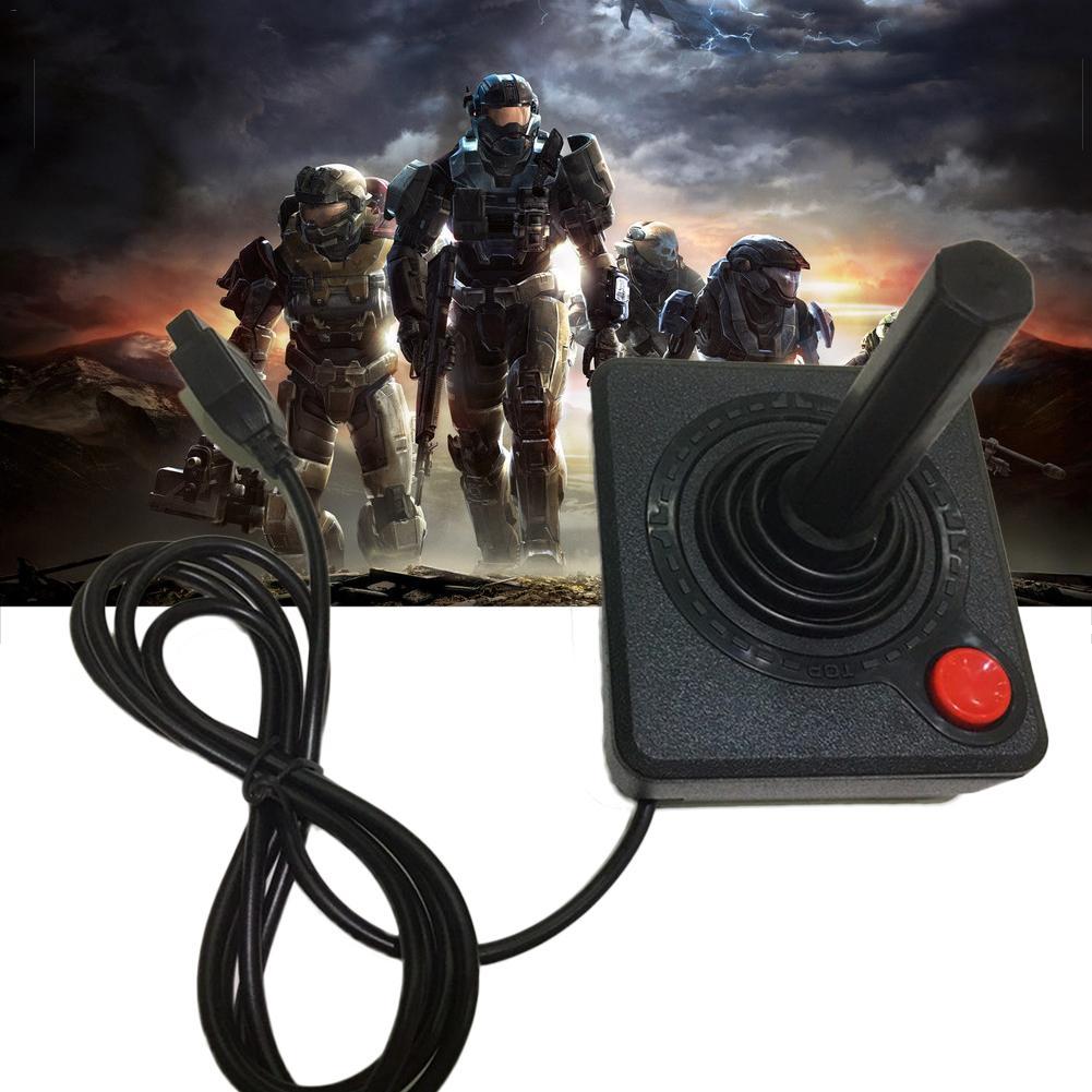 Image 2 - Prémio Joystick Controlador Do Jogo Handheld Consoles de  Videogame Portátil Para O Atari 2600 Retro 4 way Alavanca de Ação E  Único botãoJoysticks