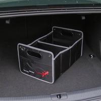 1X Für Audi A1 A3 A4 B5 B6 B7 B8 C5 C6 C7 A5 A6 A7 A8 Q3 Q5 Q7 8P 80 V8 8L 8V Auto Zubehör Styling Stamm Box Verstauen Aufräumen-in Autoaufkleber aus Kraftfahrzeuge und Motorräder bei