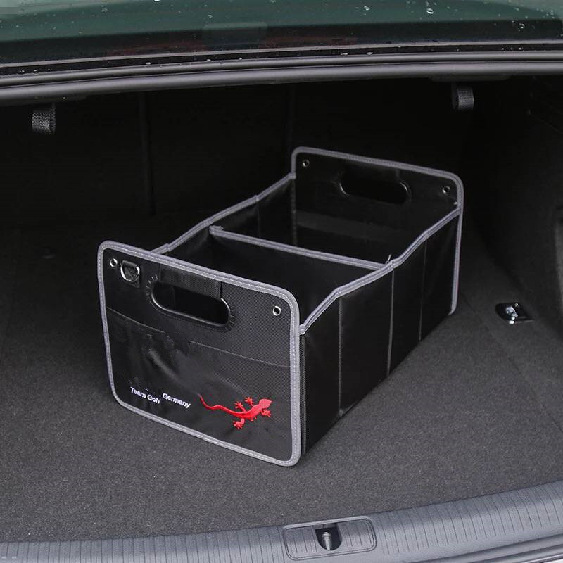 1X For Audi A1 A3 A4 B5 B6 B7 B8 C5 C6 C7 A5 A6 A7 A8 Q3 Q5 Q7 8P 80 V8 8L 8V Car Accessories Styling Trunk Box Stowing Tidying|Car Stickers| |  - title=
