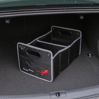 1X For Audi A1 A3 A4 B5 B6 B7 B8 C5 C6 C7 A5 A6 A7 A8 Q3 Q5 Q7 8P 80 V8 8L 8V Car Accessories Styling Trunk Box Stowing Tidying