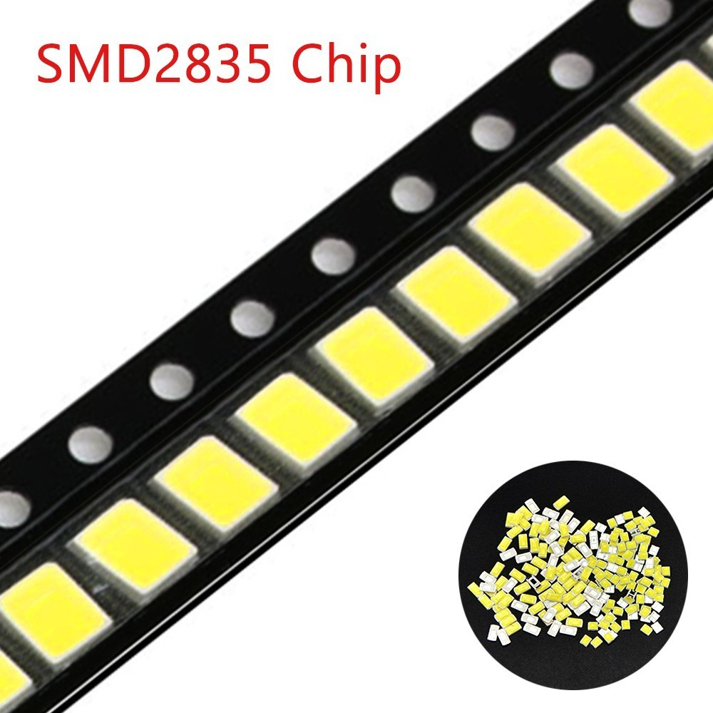 100pcs 2835 White Warm White Smd Led Lamp Light Emitting Diode Light Bulb Strip Conduct in Light Beads from Lights Lighting