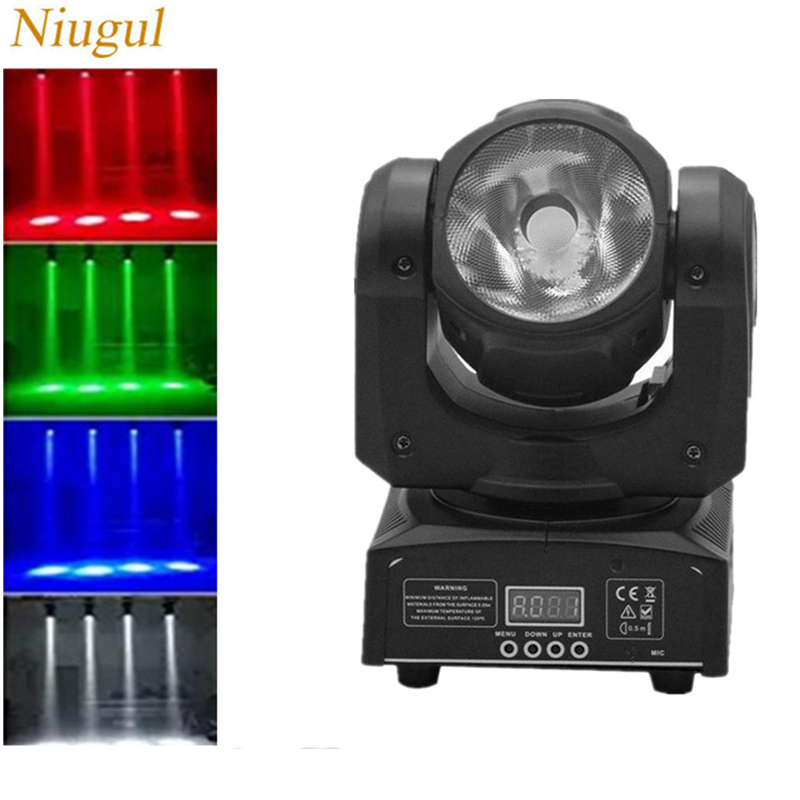 60w Led Beam Light/rgbw 4in1 Linear Beam Effect Moving Head Light/mini Disco Dj Spot Lighting/dmx512 Wall Washer Stage Lighting Luxuriant In Design Commercial Lighting Lights & Lighting