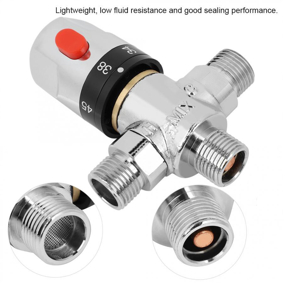 3Wege Thermostat Mischventil Wassererhitzer Ventil Temperatur Kontrolle Mixer AP