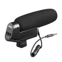 BOYA BY VM600 Cardioid Directional Condenser Microphone Mic For Canon Sony_ Nikon_ Pentax Dlsr Camera