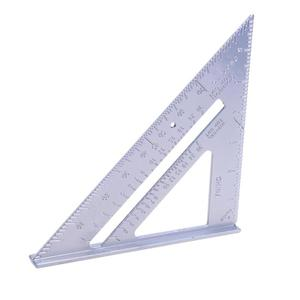 Image 1 - Triangle Ruler Aluminum Alloy Speed Square Protractor Miter Framing For Woodworking Carpenter Measurement Tool