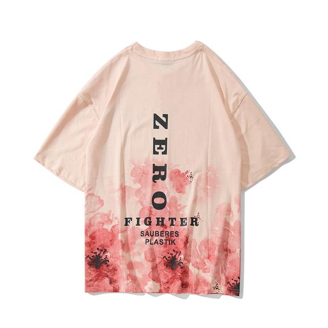 1f16b31f0 2019 Modis Hip Hop Flower Print Fashion Couple Short Sleeve Shirt Summer  Casual Harajuku Men's T-Shirt Cotton Women TOP