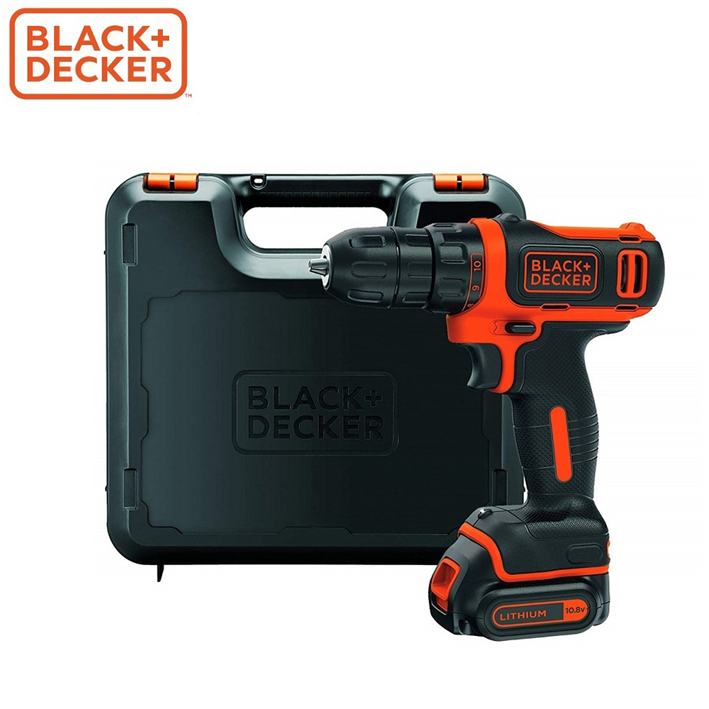 Screwdriver Black+Decker BDCDD12KB-XK screwdrivers drill repair hand tools home repairs цена