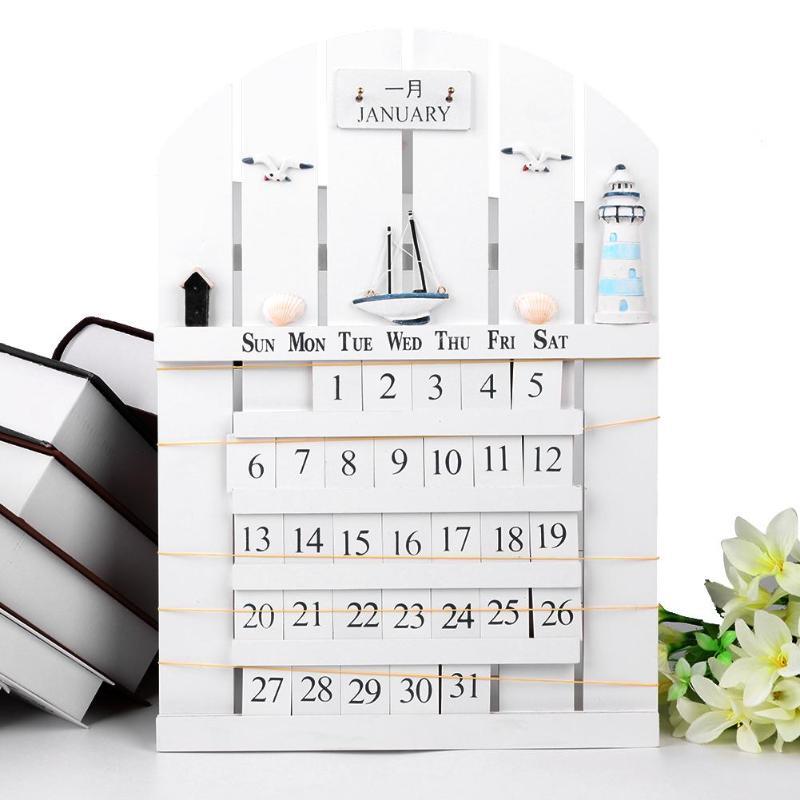 Calendars, Planners & Cards Creative Magnetic Ball Wall Clock Perpetual Wall Calendar 2019 Novelty Decor European Style Calendar Clock Timer Planner Date Office & School Supplies