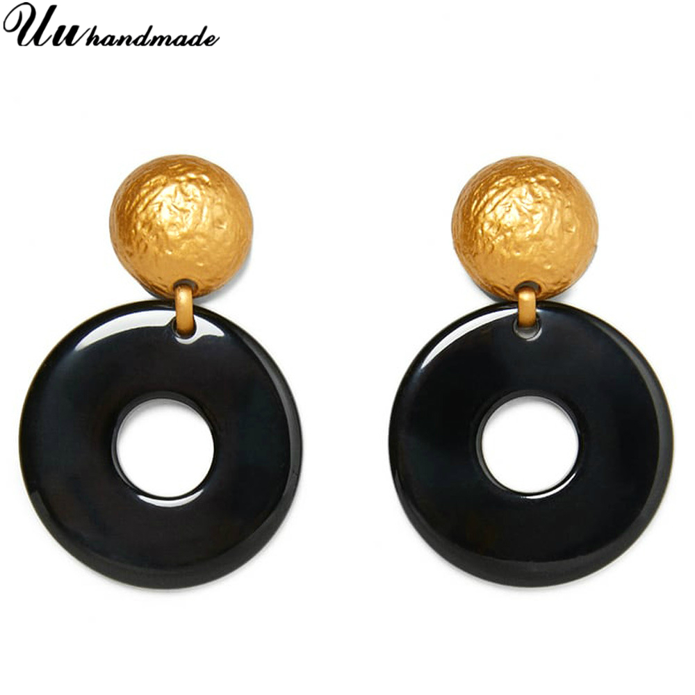 Wholesale fashion acrylic jewelry earrings customized MOQ 120 pairs delivery time about 20 days