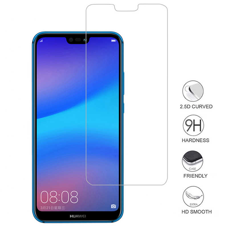 2.5D Điện Thoại Di Động Bảo Vệ Glass Phim Cho Huawei P20 Lite 9 H Tempered Glass Đối Với Huawei P20Lite Bảo Vệ Màn Hình Cho p20 Pro Trường Hợp