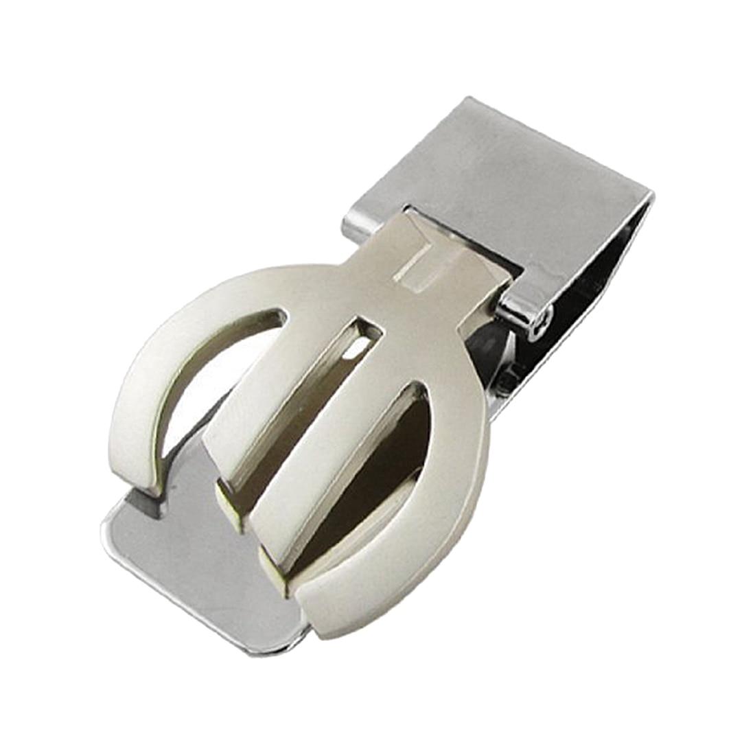 Polished Metal Folding Money Cash Clip Silver Money Clip Money Clip