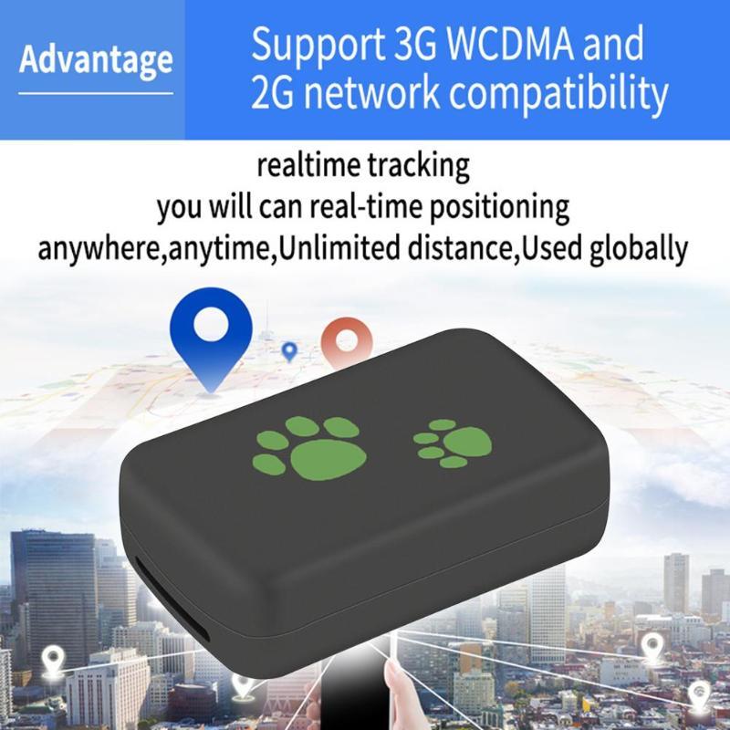 TK203 3G GPS Tracker chien chat animal de compagnie GPS WCDM localisateur en temps réel dispositif de suivi alarme de mouvement Portable étanche à la poussière Tracker