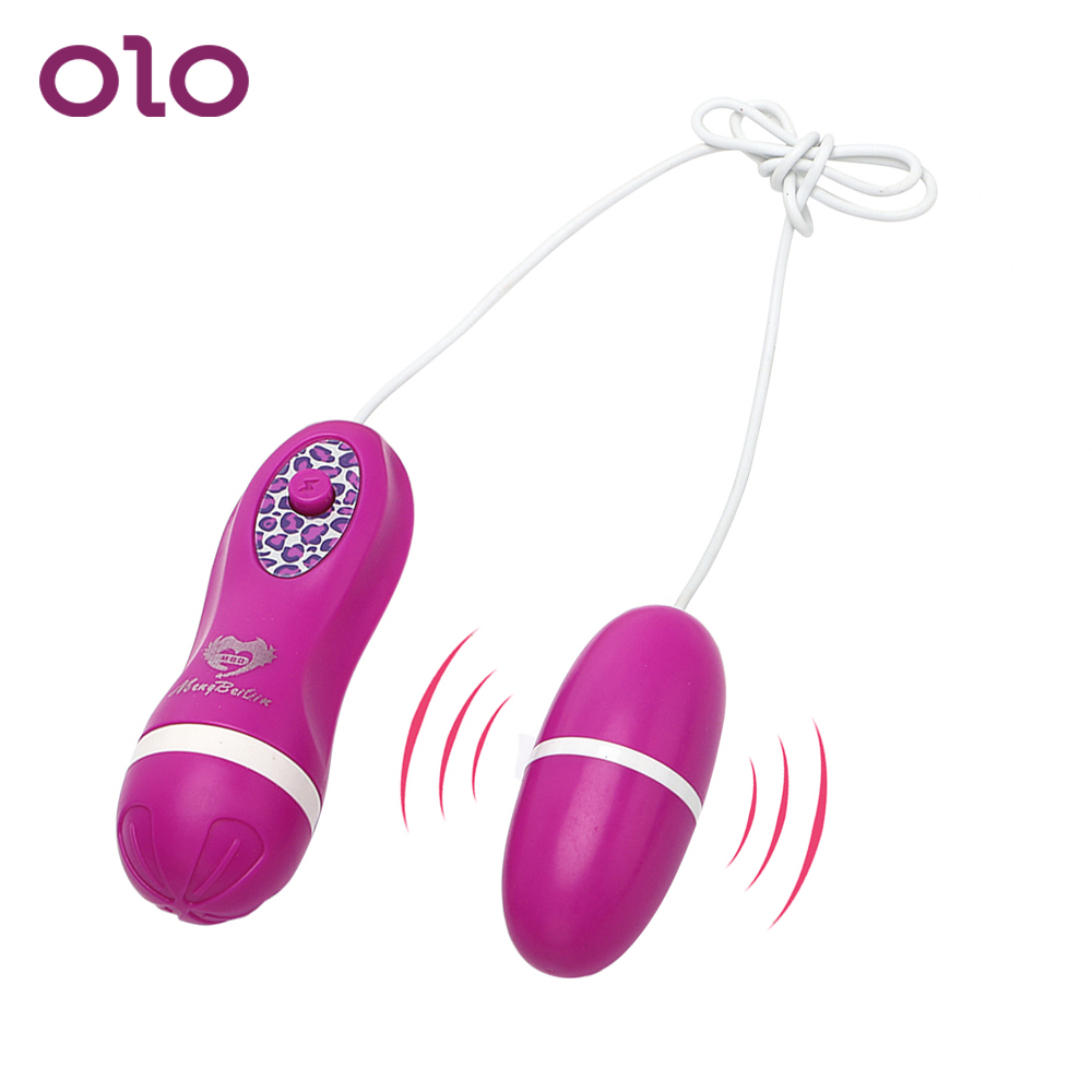 OLO Vibrating Egg Vibrator Strong Clitoris Stimulator G-spot Massage Sex Toys For Woman Female Masturbation Adult Product