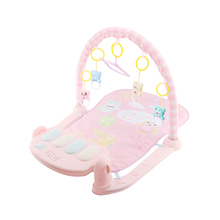 Multifunction Soft Baby Play Mat Activity Piano Pedal Fitness Frame Music Bed Bell Play Gym Toy Floor Crawl Blanket Carpe