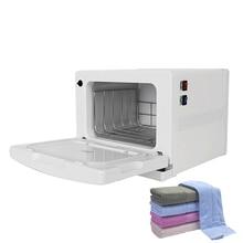 Hot Towel Warmer Disinfection Cabinet 8L Electric UV light Sterilizer Facial Salon Spa Machine