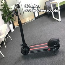 10-inch Off Street Electrical Scooter Grownup bike 48V new Double motor Type highly effective Foldable e-bike