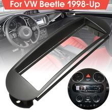 Автомобильная стерео панель 1 DIN, установка в приборной панели, автомагнитола, фасции Для VW Beetle 1998-2018