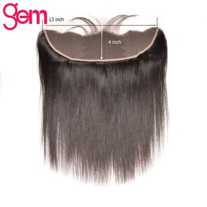 Image 5 - 10 30 Inch חבילות עם פרונטאלית ברזילאי Staright שיער חבילות עם פרונטאלית שיער טבעי חבילות עם תחרה פרונטאלית פנינה רמי שיער
