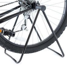 אוניברסלי אופני תיקון אופניים Stand Stand לשלושה גלגל רכזת Kickstand אחסון מתלה אופני חניה מחזיק מתקפל רכיבה על אופניים אבזר