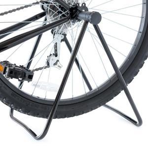 Image 1 - Universal Fahrrad Reparatur Ständer Fahrrad Stehen Triple Rad Hub Ständer Lagerung Rack Bikes Parkplatz Halter Falten Radfahren Zubehör