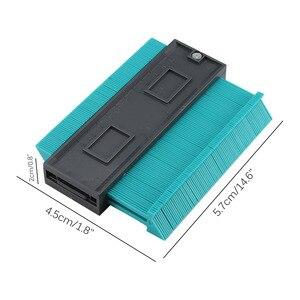 Image 3 - Plastikowy miernik powielania konturu 5 Cal kopiowanie nieregularnych kształtów dla idealnego dopasowania łatwy profil cięcia narzędzia stolarskie