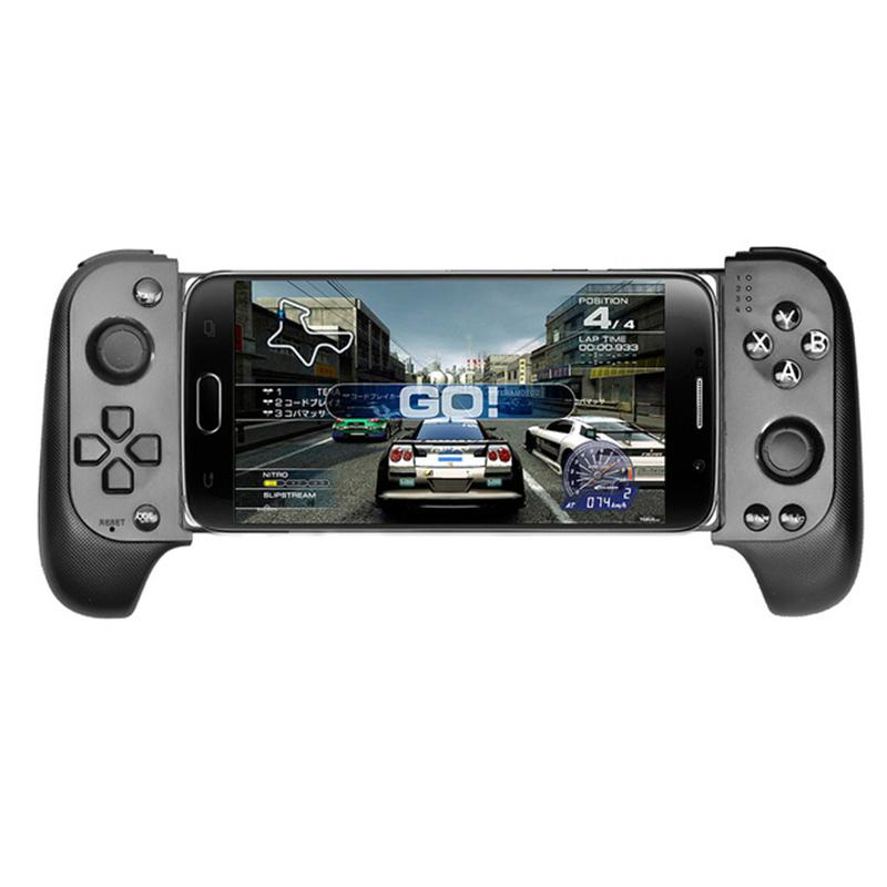 HobbyLane Wireless Bluetooth Gamepad Game Controller Telescopic Gamepad Joystick For Samsung Xiaomi Huawei Android Phone PC d20 image