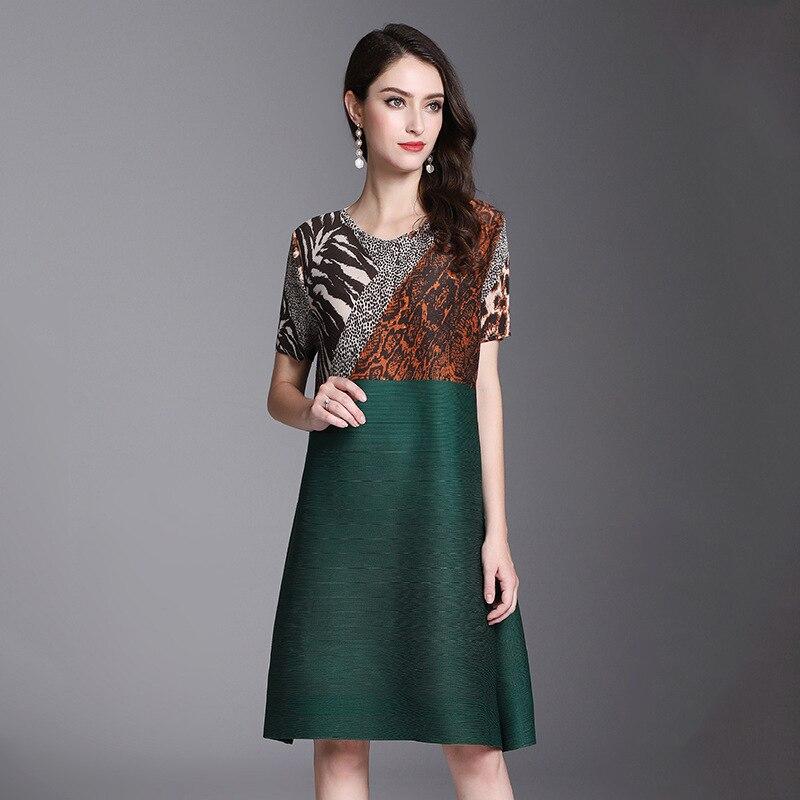 Vêtements Patchwork Nouvelle Imprimée Printemps Mode Green Léopard vOmnyN8w0