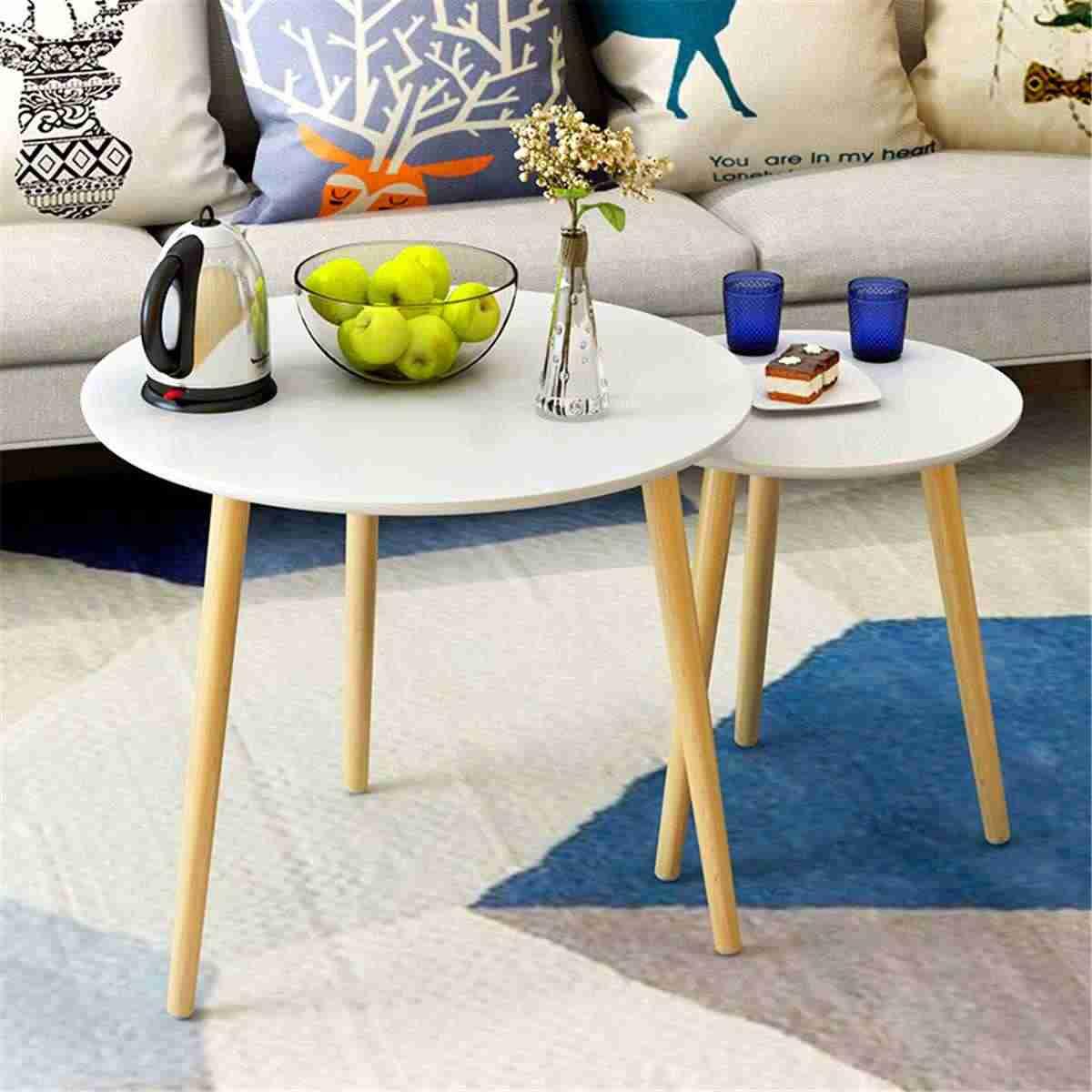 Современный прикроватный обеденный стол Кофейня с деревянными ножками, Офис мебелью ручной стержень, для кафе, для украшения мебели 50X49 см круглый Треугольники