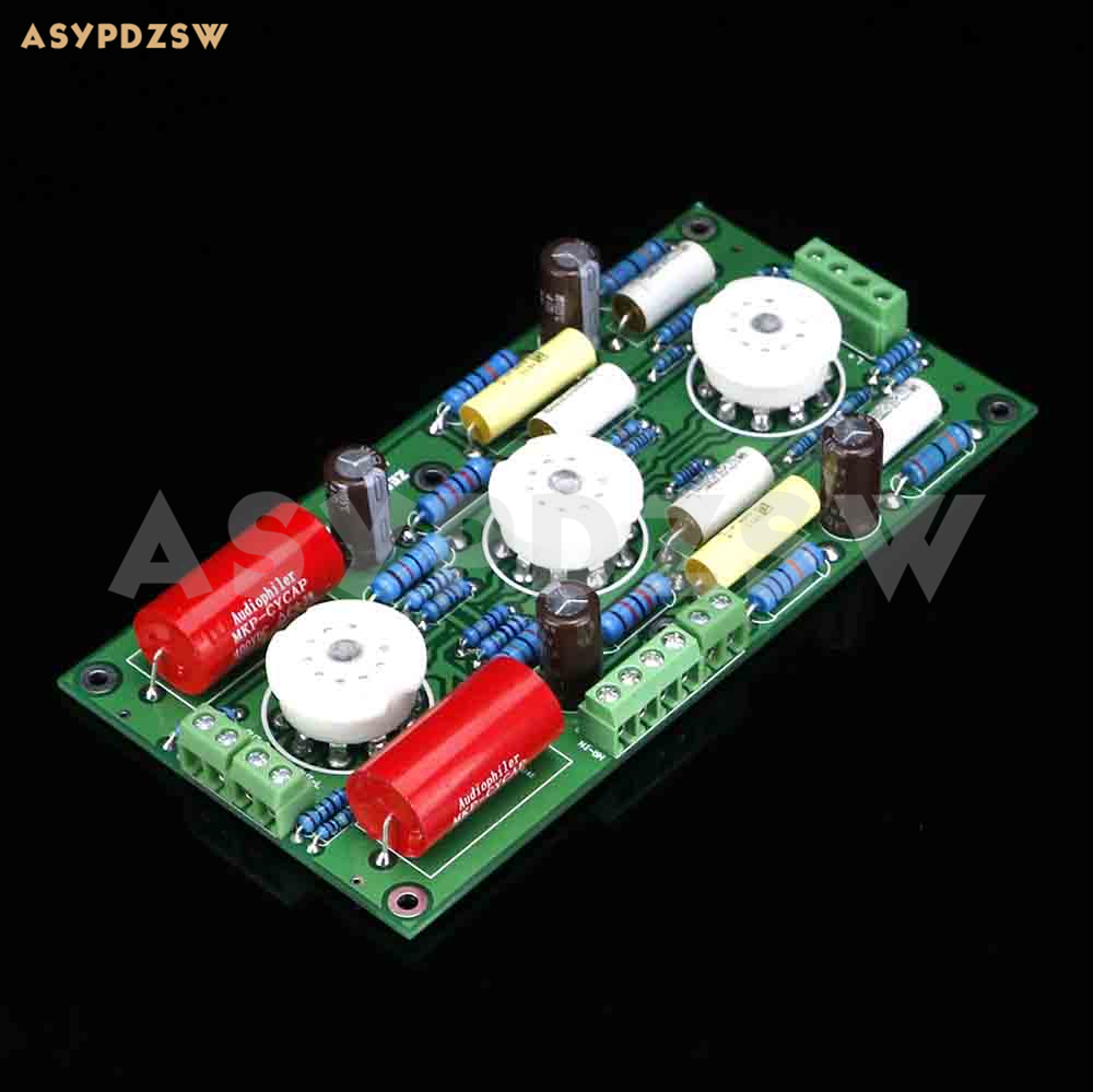PRT07A 12AX7 Vacuum tube preamplifier finished board Base on Marantz 7(M7) circuit (No tube) finished mc997 dp ess9018 jj e88cc vacuum tube digital player