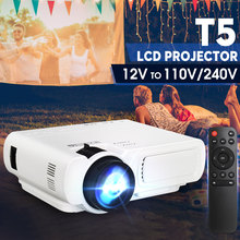 Mini Projector T5 LCD 7000 Lumens 1080P Full HD Wifi bluetooth Home Theater Andr