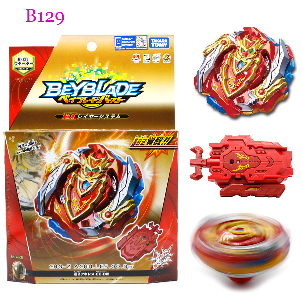 Original TOMY Beyblade Burst fafnir B128 B127 CHO-Z VALKYRIE.Z.Ev with launcher Bayblade be blade top spinner Toy for Children