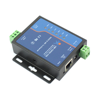USR TCP232 410S Serial to Ethernet Converter Support Modbus RTU & TCP Terminal Power Supply RS232 RS485 to TCP/IP Module