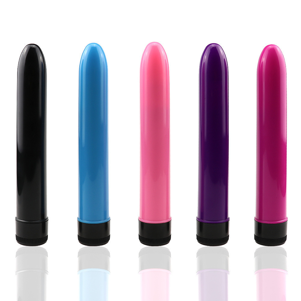 2019 Mini 7 Inch Bullet Clitoris Stimulator Dolphin Vibrating G-spot Dildo VibratorAbs Material Adult Sex Toys For Woman S032
