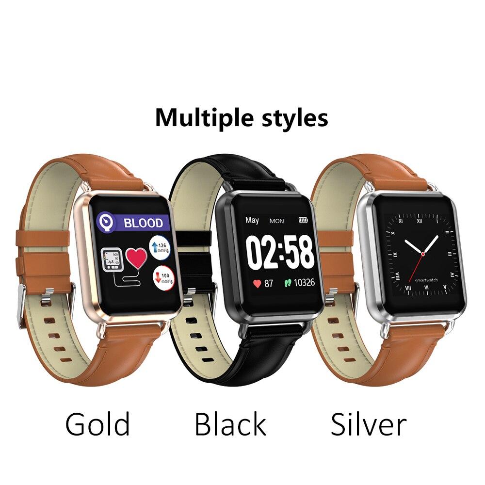 Praktisch Q13 Smartwatch Männer Frauen Ekg Ppg Blutdruck Herz Rate Monitor 1,3 zifferblatt Sport Modi Call Nachricht Push Fitness Smart Uhr Tragbare Geräte Intelligente Elektronik