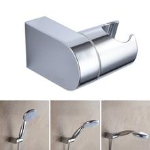 Кронштейн ручной для ванной комнаты Регулируемая ABS душевая головка держатель полированный хром настенное крепление слайдер современная вешалка