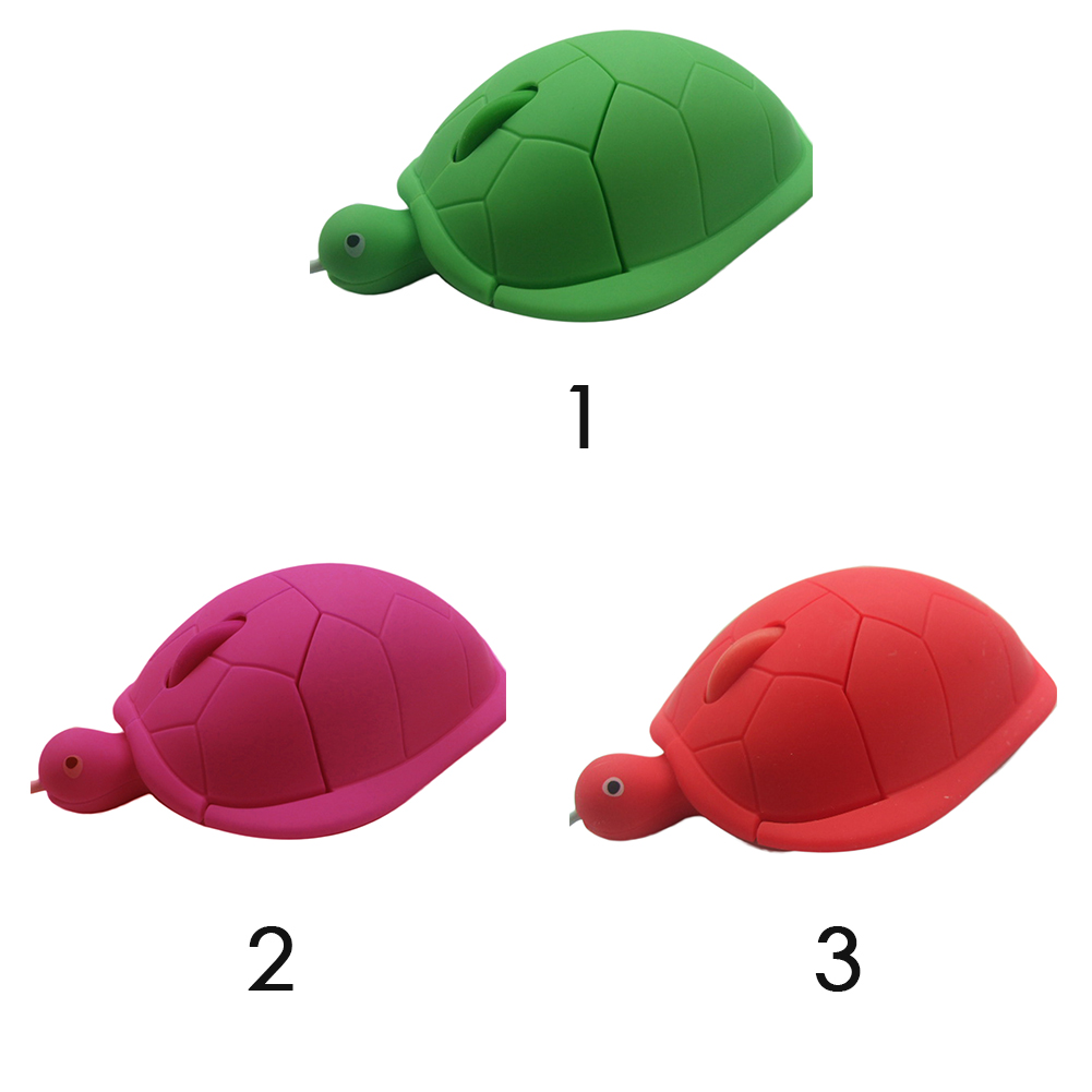 Cute animal Wired Mouse USB 3D Turtle Optical Mice Mouse For Computer PC Mini Pro Sea