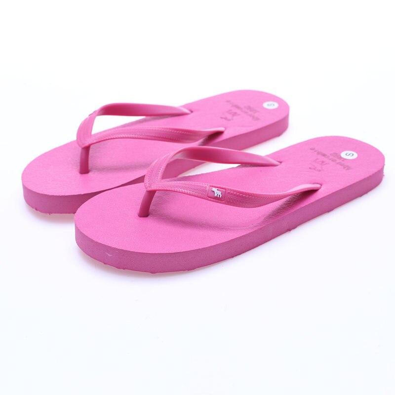 Classic Versatile Couples Herringbone Slippers Summer Flip Flops Wholesale nan nv Sandals Female Pinch Non-Slip Shoes