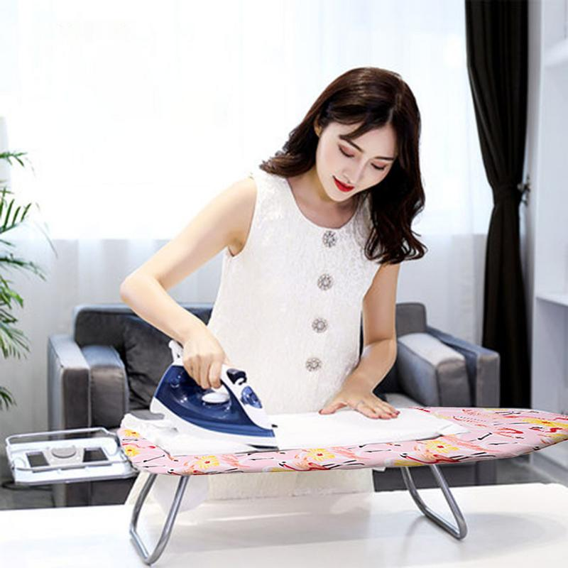 Flamingos Ironing Board Cover Heat Resistant Protective Press Ironing Table With Durable Breathable Tear For Ironing Cloth Guard