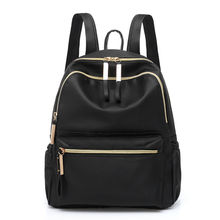 2019 Hot Classic women's backpack black fashion Oxford cloth