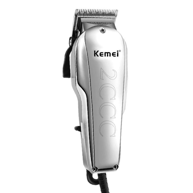 KEMEI KM-8849 12W Rechargeable Hair Clipper Trimmer with Large Capacity Battery Professional Hair Cutting Machine Haircut