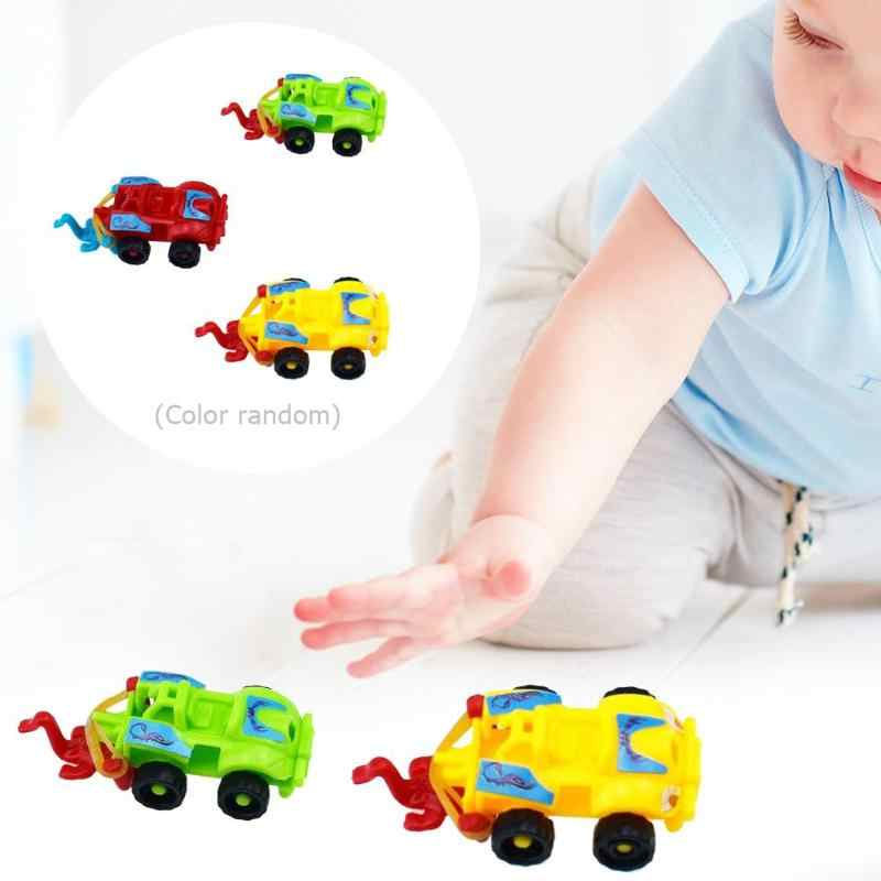 Plastic Assembled Racing Car Model Toy DIY Motorcycle Kids Education Puzzle Mini Toys Gift Racing Tracks Car Kids For Toys Gifts